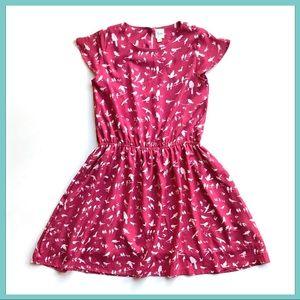 YUMI Girl UK Dress Magenta New Anthropologie